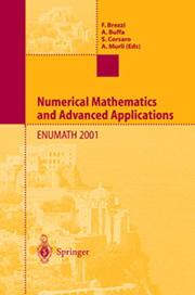 Cover Conference Proceedings Enumath 2001